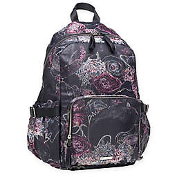 Storksak® Hero Backpack Diaper Bag in Neon Floral