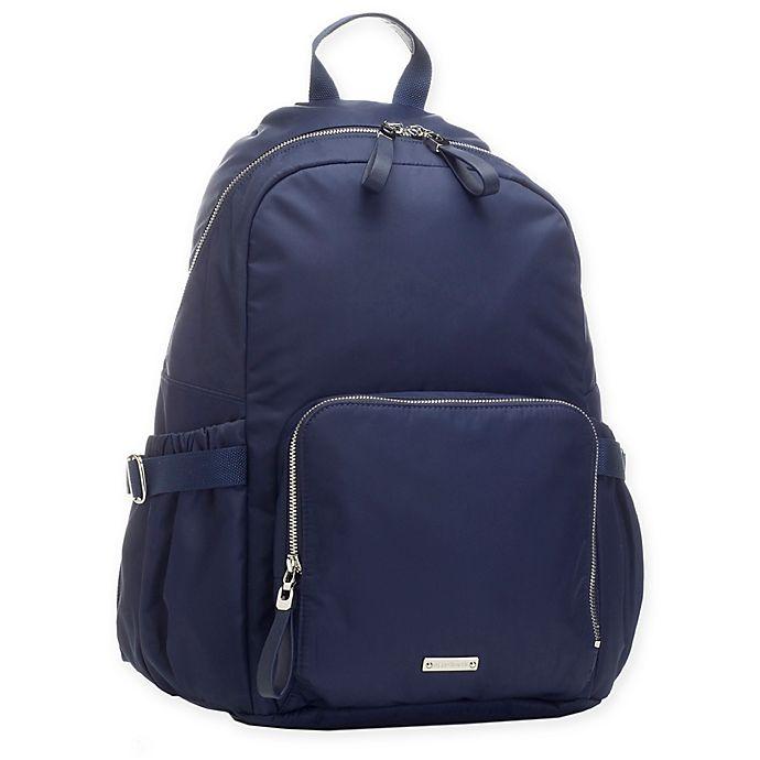 Alternate image 1 for Storksak® Hero Backpack Diaper Bag in Navy