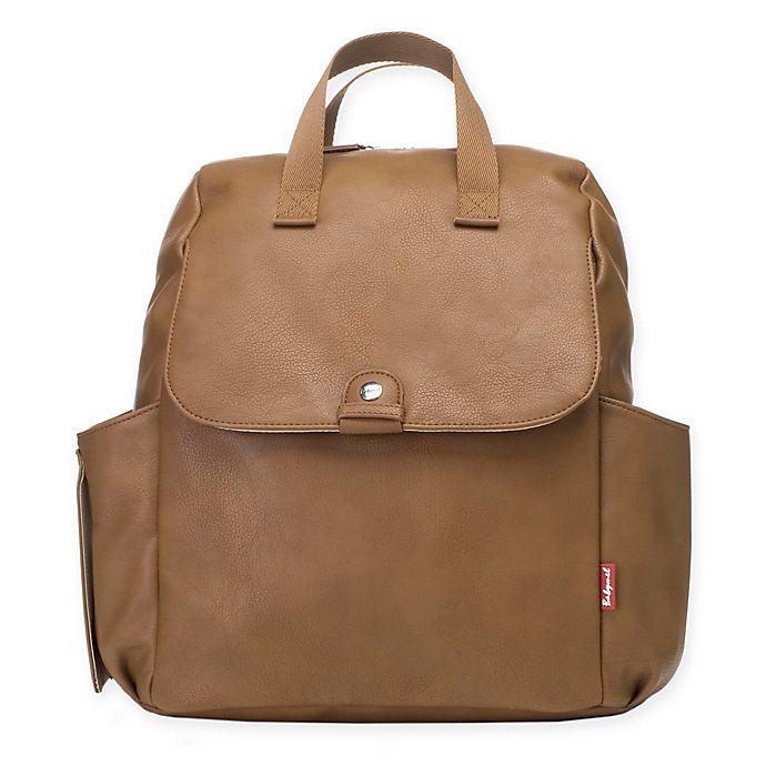 Alternate image 1 for BabyMel™ Robyn Convertible Backpack Diaper Bag in Tan