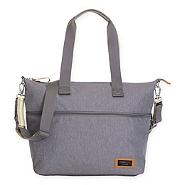 Storksak® Travel Expandable Diaper Bag in Grey