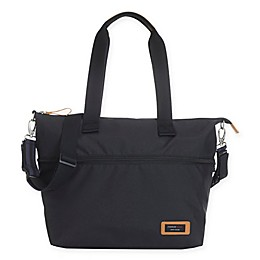Storksak® Travel Expandable Tote Diaper Bag in Black