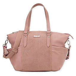 BabyMel™ Anya Over-the-Shoulder Diaper Bag in Dusty Pink