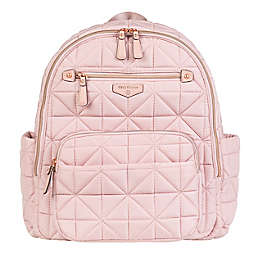 TWELVElittle Companion Backpack Diaper Bag in Pink Blush