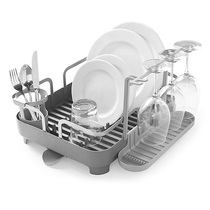Umbra 174 Holster Dish Rack In Charcoal Bed Bath Amp Beyond