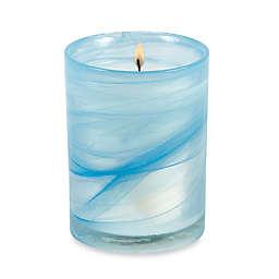 Illuminaria Mediterranean Mist and Sea Salt Marble Swirl Jar Candle