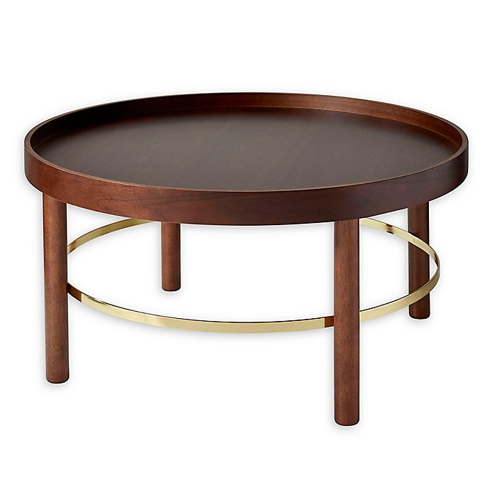 Adesso Montgomery Coffee Table In Walnut View A Larger Version Of This Product Image