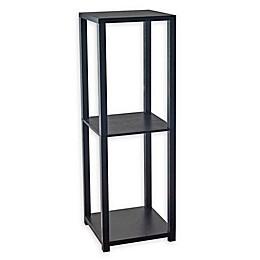 Adesso Lawrence Tall Bookcase in Black