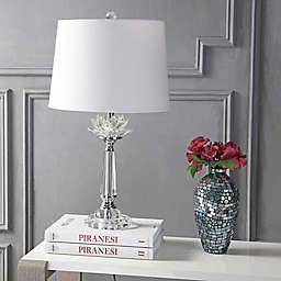 "JONATHAN Y Day 24.5"" Crystal Table Lamp"