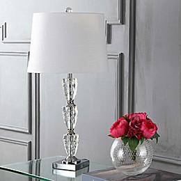 "JONATHAN Y Ellie 28"" Crystal Table Lamp"
