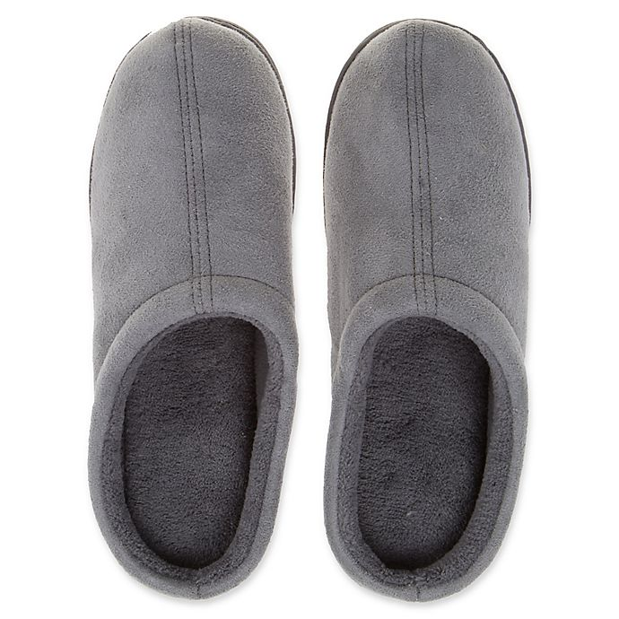 Alternate image 1 for Therapedic® Unisex Classic Outlast® Technology Slippers in Grey