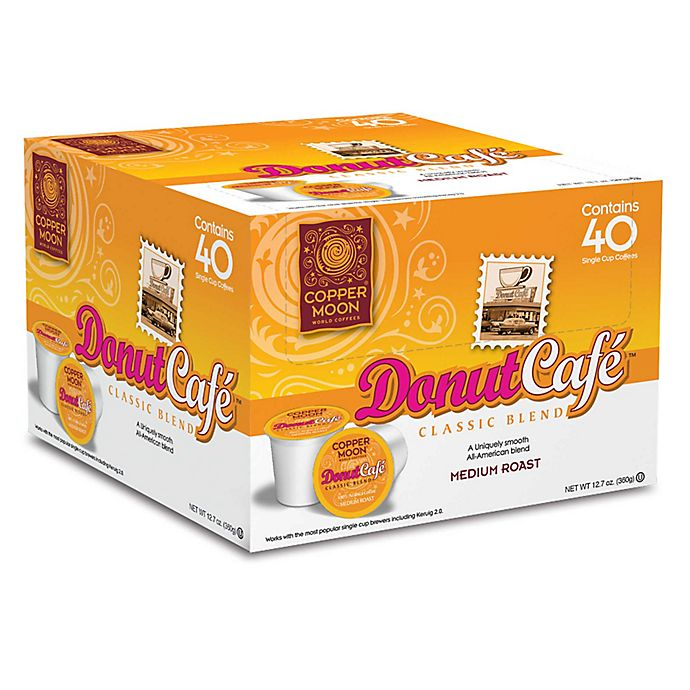 Alternate image 1 for 40-Count Copper Moon® Donut Cafe Coffee for Single Serve Coffee Makers