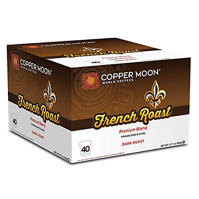 40-Count Copper Moon® French Roast Coffee for Single Serve Coffee Makers