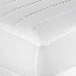 Equip Your Space Twin XL Microfiber Mattress Pad in White