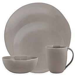 Artisanal Kitchen Supply® Curve 16-Piece Dinnerware Set in Grey
