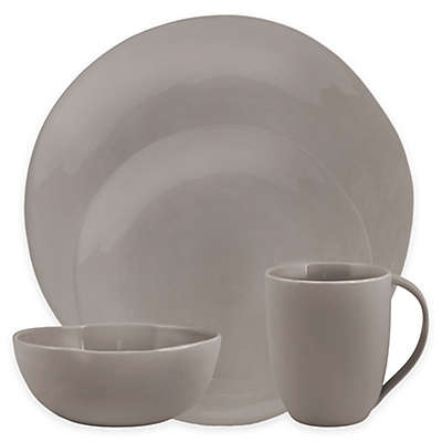 Artisanal Kitchen Supply® Curve 16-Piece Dinnerware Set in Grey