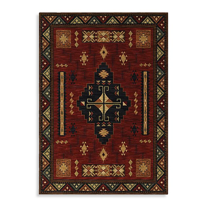Shaw Museum Of New Mexico Collection Ganado Cranberry Rugs