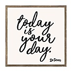"Dr. Seuss™ ""Today is Your Day"" 18-Inch Square Framed Wall Art"