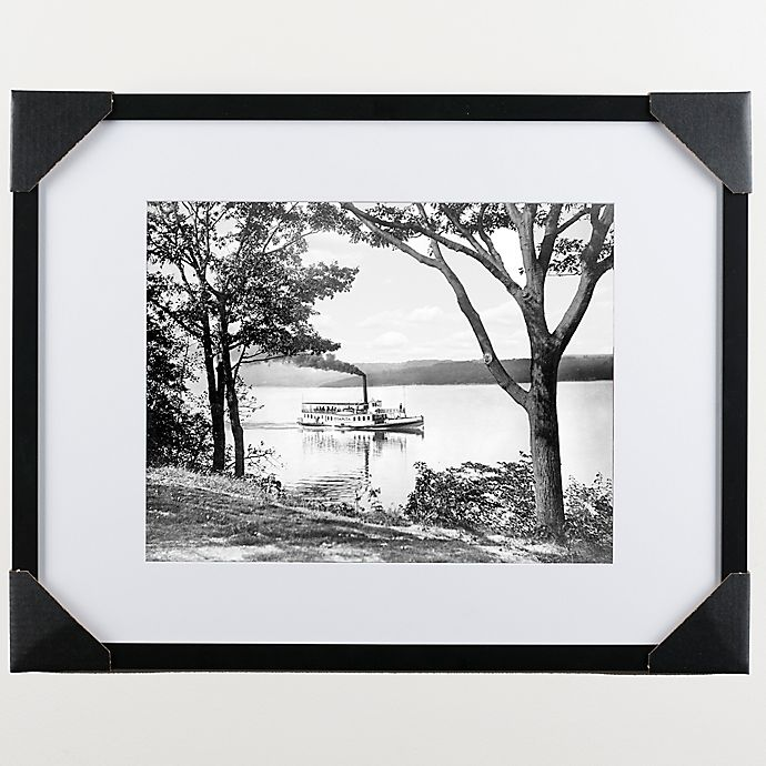 Alternate image 1 for Lincoln Wood 22-Inch x 28-Inch Framed Wall Art
