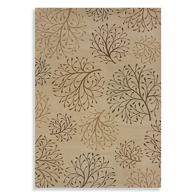 fd5c88af8cc284 Shaw Inspired Design Collection Isabella Rectangle Rugs in Beige ...