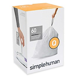 simplehuman® Code Q 50-65-Liters Custom Fit Liners