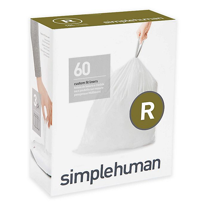 Alternate image 1 for simplehuman® Code R 10-Liter Custom Fit Liners