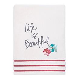 Avanti Dream Big Bath Towel in White