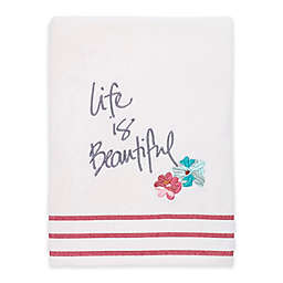 Avanti Dream Big Bath Towel in White
