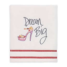"Avanti ""Dream Big"" Hand Towel in White"