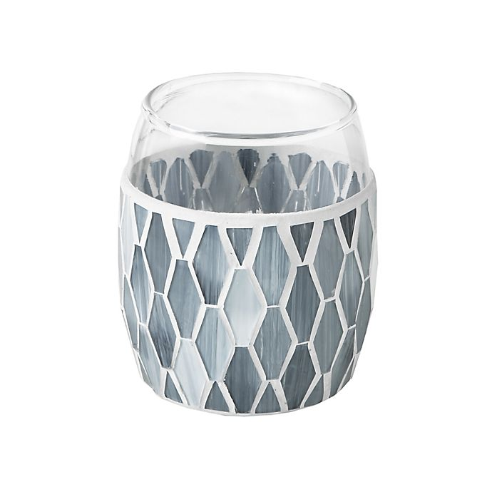Alternate image 1 for JLA Bath Mosaic Tumbler in Grey