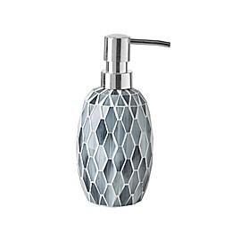 JLA Bath Mosaic Lotion Pump in Grey