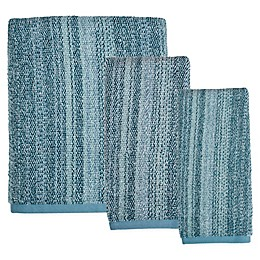 Saturday Knight Woodland Walk Bath Towel in Blue