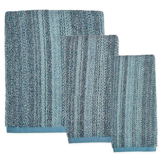 Alternate image 1 for SKL Home Woodland Walk Bath Towel in Blue