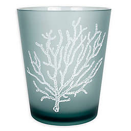 SKL Home Coral Reef Wastebasket in Aqua