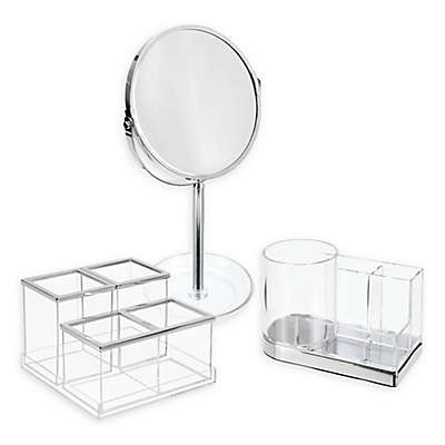 INTERDESIGN® Luci Vanity Mirror and Organizer Collection