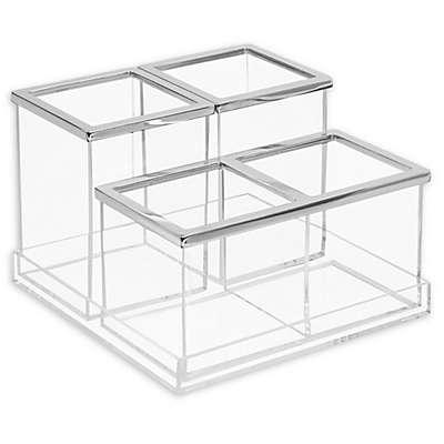 INTERDESIGN® Luci 4-Piece Vanity Organizer
