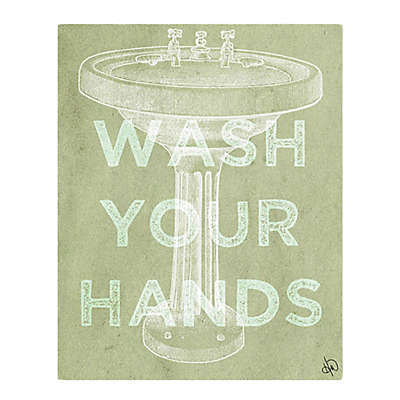 "Astra Art ""Wash Your Hands"" Wall Art Collection"