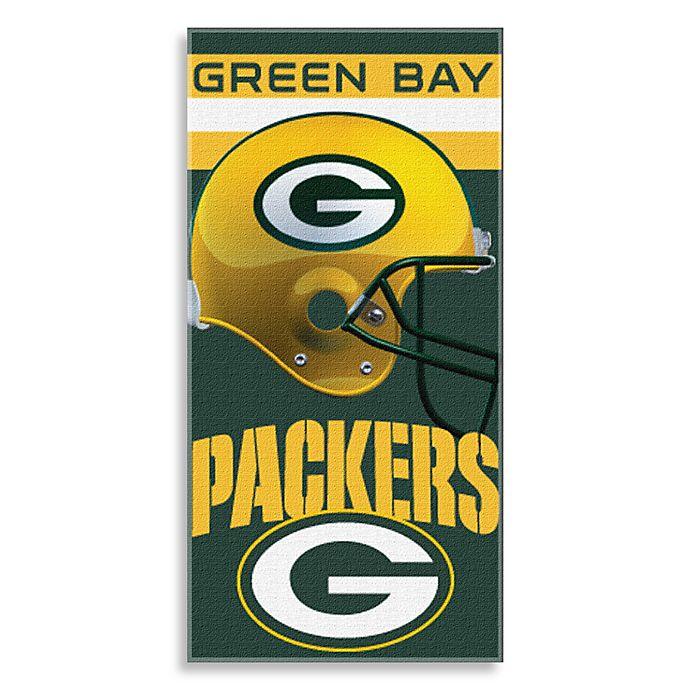 71ef5b312 NFL Green Bay Packers Shadow Beach Towel