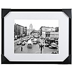 Rochester Street Scene/Genesee Sign 22-Inch x 28-Inch Framed Wall Art