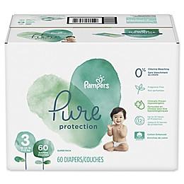 Pampers® Pure Protection 60-Count Size 3 Disposable Diapers