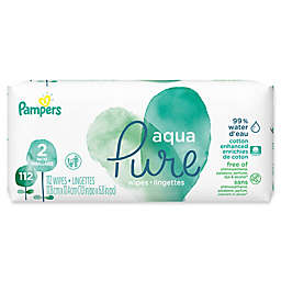 Pampers® 112-Count Aqua Pure Baby Wipes