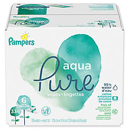 Pampers® Aqua Pure Baby Wipes