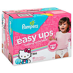 Pampers® Easy Ups Size 2T-3T 80-Count Girl's Training Underwear