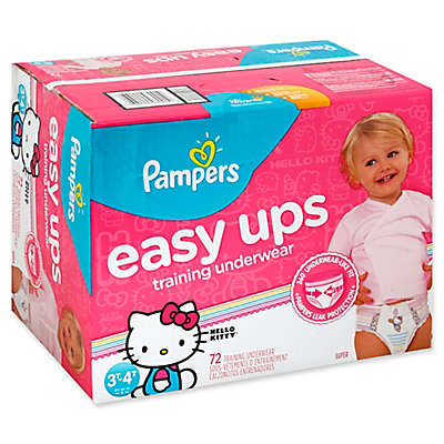 Pampers® Easy Ups 72-Count Size 3-4T Girl's Training Underwear