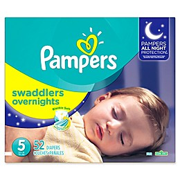 Pampers® Swaddlers Overnights Disposable Diapers