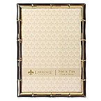 Lawrence Frames 5-Inch x 7-Inch Bamboo Picture Frame in Gold