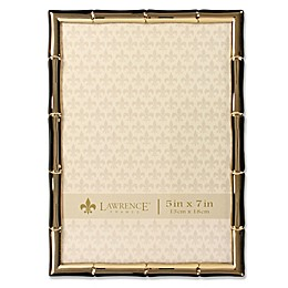 Lawrence Frames Bamboo Picture Frame in Gold