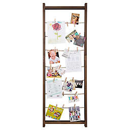 Burnes of Boston 5-Foot Ladder Collage Frame with Clips