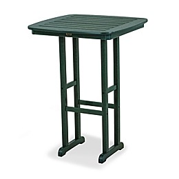 POLYWOOD® Nautical 31-Inch Square Patio Bar Table