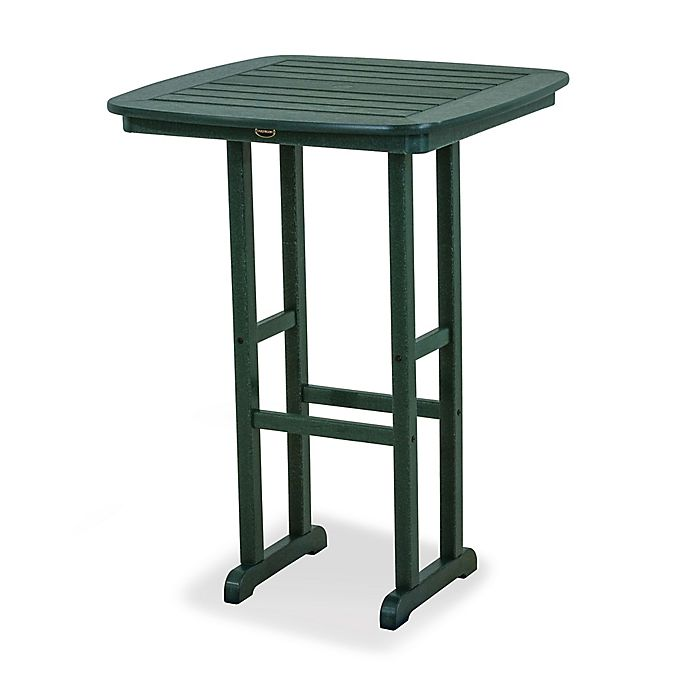 Alternate image 1 for POLYWOOD® Nautical 31-Inch Square Patio Bar Table