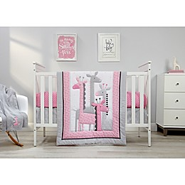Little Love by NoJo® Giraffe Time Crib Bedding Collection in Pink